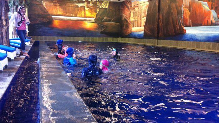 swimming pool hijab